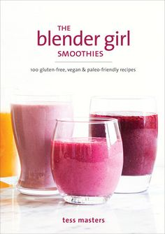 A beautiful collection of vegan smoothies from powerhouse blogger The BlenderGirl, featuring photographs, flavor boosters, and nutritional add-ons forevery recipe.    The Blender Girl takes smoothies to the next level in this comprehensiveguide, helping you blast your way to good health and blended bliss. These 100creative and delicious recipes are designed to fit your every need, whetheryou want to detox, lose a few pounds, get energized, or guard against seasonalcolds. Each smoothie has… Smoothie Prep, Raspberry Smoothie, Vegan Smoothies, Breakfast Smoothies, Fruit Smoothies, Smoothie Recipes, Blender Recipes, Strawberry Kiwi, Easy Smoothies