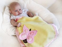 Hey, I found this really awesome Etsy listing at https://www.etsy.com/listing/100148841/pink-butterfly-security-blanket-lovey