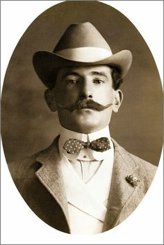 Hot Vintage Men: Men with Big Mustaches