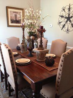 Dining Room Fall