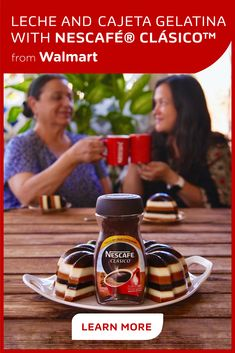 Celebrate the holiday season with Leche and Cajeta Gelatina, featuring NESCAFÉ® CLÁSICO™, available at Walmart! Made with 100% real coffee from responsibly sourced coffee beans, you can taste the quality instantly. Click here to get the recipe and learn more. #savorthemorning #savortheday #savortheevening
