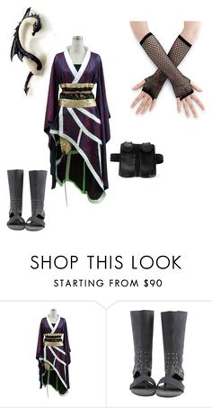 """""""Naruto oc"""" by zenriboa ❤ liked on Polyvore featuring Holster"""
