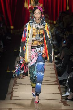 Moschino   Ready-to-Wear - Autumn 2017   Look 28 Moschino, Milan, Felt Cover, Laura Biagiotti, Fashion Week, Ready To Wear, Fall Winter, Runway, My Style