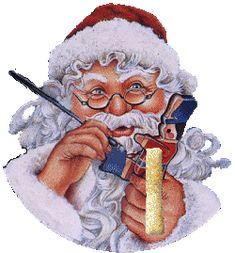 Alfabeto animado de Santa pintando juguetes. | Oh my Alfabetos!