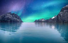 Beautiful lake aurora and mountains cross stitch pattern. Blue, green purple sky over a serene lake. Relaxing Rain Sounds, Rain Sounds For Sleeping, Relaxing Music, Nature Wallpaper, Hd Wallpaper, Wallpapers, Rain And Thunder Sounds, 8k Ultra Hd, Sound Of Rain
