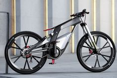 Audi e-bike: A bicycle that runs at 80 kmph.
