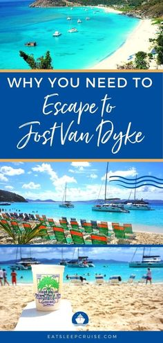 If you are looking for one of the best beaches in the Caribbean, then you need to take a beach break at Jost Van Dyke in the British Virgin Islands! Cruise Excursions, Cruise Destinations, Cruise Port, Cruise Travel, Cruise Vacation, Vacation Spots, Cruise Tips, Italy Vacation, Disney Cruise
