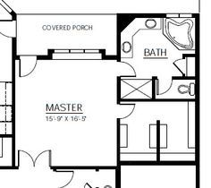 Master Bedroom Layout master bedroom 12x16 floor plan with 6x8 bath and walk in closet