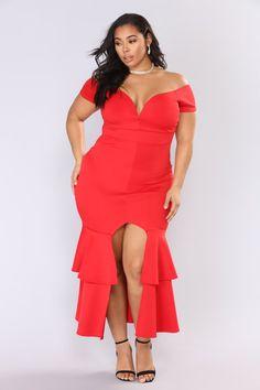 a8d598ca64292 End Of Desire Maxi Dress - Red. Fashion Nova CurveCurvy ...