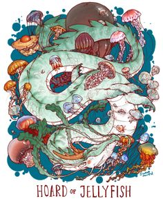 Uncommon dragon hoards: Hoard of Jellyfish