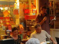 Durante l'incontro alla libreria Marco Polo di Venezia