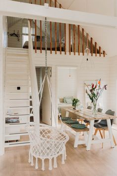 Cabin Loft, Garage Bedroom, Rest House, Best Tiny House, Beach Cottage Style, Garage Design, Tiny House Design, Cabin Homes, Awesome Bedrooms