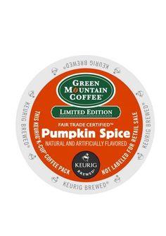 Keurig® K-Cup® Pack 18-Count Green Mountain Coffee® Pumpkin Spice Flavor Coffee #Keurig
