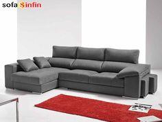 Sofassinfin.es Sofá 3 y 2 plazas con chaise-longue modelo Seel fabricado por Quality.