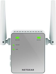NETGEAR Mini N300 Mbps Wi-Fi Range Extender with External Antennas (Wi-Fi Booster) (EX2700-100UKS) £14.99 to buy with free UK delivery.  Ideal for extending Wi-Fi to devices like the iPhone, Samsung Galaxy, iPad, PlayStation, Kindle, FireTV and Alexa Convenient wall-plug design and extend Wi-Fi up to 300 Mbps Works with any standard router or gateway Fast Ethernet port to connect a wired device External antennas for high performance.