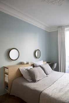 27 Ideas Bedroom Diy Small Bookshelves For 2019 Home Bedroom, Bedroom Furniture, Bedroom Decor, Bedroom Mirrors, Master Bedrooms, Design Room, Home Design, Interior Design, Headboards For Beds