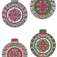 Colorable Christmas Ornament Cards Printable Christmas | Etsy Printable Christmas Ornaments, 3d Paper, Printable Cards, Crafts To Make, Coloring Pages, Decorative Plates, Unique Jewelry, Handmade Gifts, Etsy