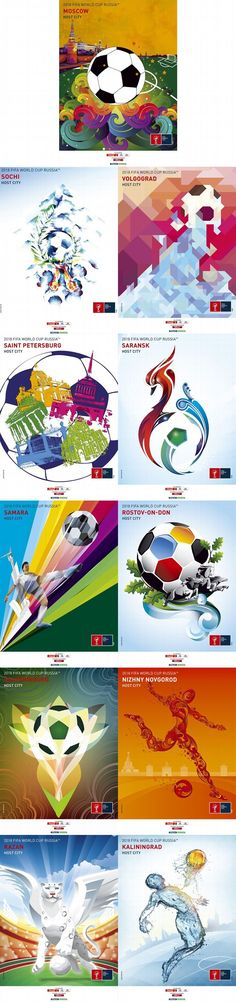 Russia 2018 World Cup posters - ESPN FC