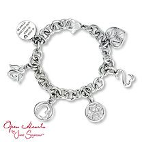 Open heart bracelet jane seymour