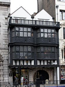 Prince Henry's Room - Prince Henry's Room at 17 Fleet Street is one of the few houses in London which survived the Great Fire of London in 1666. It has some original oak panels and an ornate plaster ceiling. It is a private building and difficult to see. Samuel. Pepys never lived there as it was a tavern in his day.