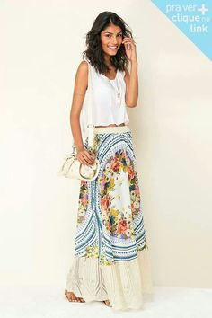 Amazing maxi skirt!! @Brenda Franklin Canfield Rio