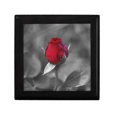 Red Rosebud Jewelry Box  $25.95