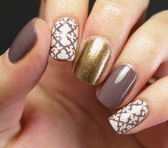 Nail Polish Society: Quatrefoil Skittlette