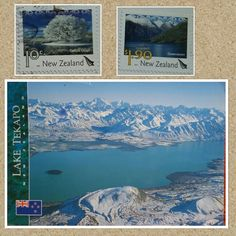 New Zealand - Postcrossing Official NZ-132857 (October 2015)