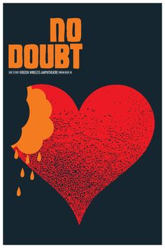 No Doubt 2009 Tour poster