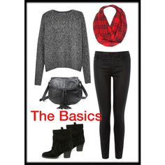 The Basics by julie-price-thiede on Polyvore featuring French Connection, Warehouse, Sbicca and Old Trend