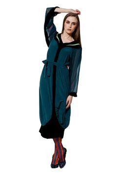 Autumn bliss – Kronkron Silk Dress, Bliss, Rain Jacket, Windbreaker, Tights, Autumn, Blazer, Mens Fashion, Unique