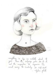 sylvia plath by clare owen