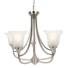 Maxim Lighting Diamond 1-Light Golden Silver Mini Pendant-91450OFGS - The Home Depot