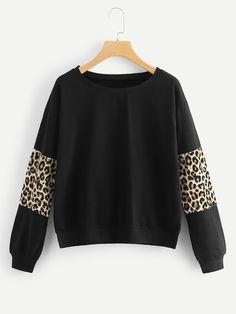 c26ef87c003 Plus Contract Leopard Sweatshirt