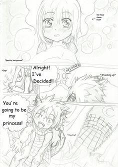 NaLu My Baby Dragon - My Pet Princess Chap 2 pg3 by Inubaki.deviantart.com on @DeviantArt