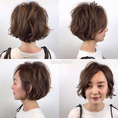Japanese hairstyle design has always had its characteristics. So today we have collected 65 kinds of Japanese Messy short hairstyles idea. Let's look for amazing hair inspiration. Messy Short Hair, Medium Short Hair, Medium Hair Styles, Curly Hair Styles, Thick Hair, Cool Short Hairstyles, Bob Hairstyles, Beckham Hair, 50 Hair