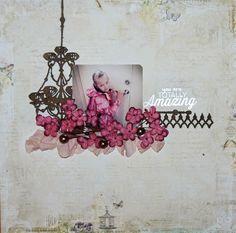 """Totally Amazing"" by Stina Westbom - C'est Magnifique June 2015 Kit"