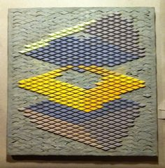 "Colored Cement Tile, 2012  15"" x 15"""