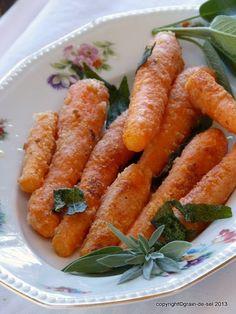 Wenn ich den Hinweis auf ein Lieblings-Karottenrezept erhalte, dann könnte kein Trüffelschwein auf eine aufgespürte Fährte mit mehr Elan...