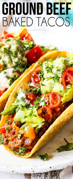 Baked Ground Beef Tacos Bursting With The Best Juicy Beef Filling And Gooey Chee. - Baked Ground Beef Tacos Bursting With The Best Juicy Beef Filling And Gooey Cheese Are Delicious, E - Nacho Dip, Kitchen Recipes, Cooking Recipes, Healthy Recipes, Amish Recipes, Paleo, Keto, Carne Asada, Mexican Dishes