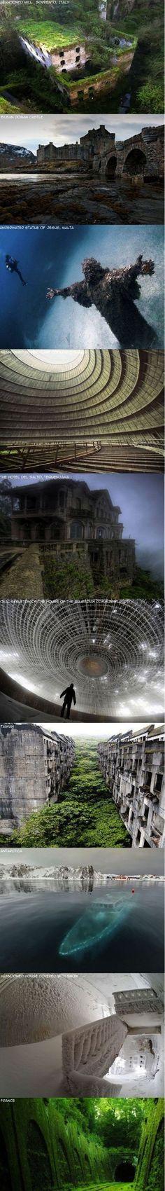 Faszinierende verlassene Orte