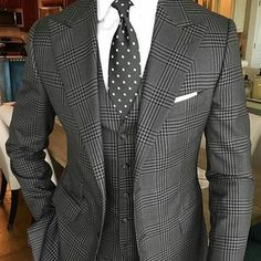 The Bespoken Mogul Chicago — Today's look of the day Clean classy and simple...