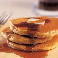 Cooking Light Buttermilk Pancakes.  One of Daniel's favorite breakfasts :)