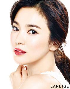 Song Hye Kyo pink lips