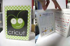 Portable Cricut cart reference guide
