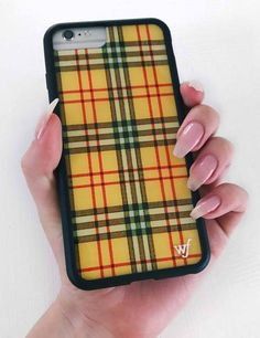 """as if i'd be caught dead without the new yellow plaid iphone case!"""" (where my cher horowitz fans at?) swipe this clueless inspired case before Iphone 8 Plus, Diy Iphone Case, Cute Cases, Cute Phone Cases, Iphone 7 Phone Cases, Att Iphone, Iphone 5s, Phone Covers, Apple Iphone"""