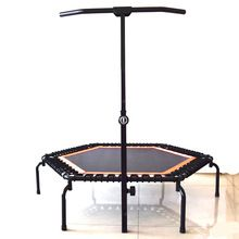 [Body Building] Foldable Jumping for Fitness Mini Trampoline With Handle