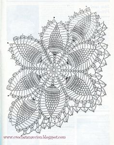 32 Brilliant Picture Of Crochet - Diy Crafts - Bobcik - bobcik Crochet Table Runner Pattern, Free Crochet Doily Patterns, Crochet Gloves Pattern, Crochet Doily Diagram, Crochet Borders, Crochet Chart, Thread Crochet, Crochet Motif, Hand Crochet