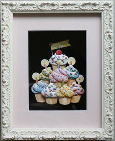 Birthday cupcakes made by Kazumi Iitaka