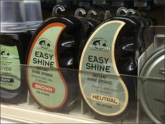 A quick glance shows you how effective an eccentric teardrop-shaped-package is in helping Easy Shine® Shoe Polish stand out at the shelf edge. Step through the gallery for proof this self-merchandi. Divider Design, Shoe Polish, Eccentric, Shelf, Packaging, Retail, Branding, Display, Gallery